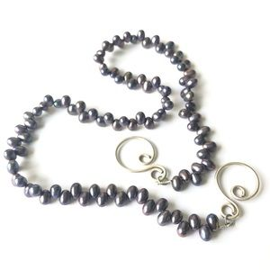 """Tahitian pearls Necklace 18"""""""
